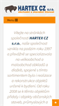 Mobile Preview of hartex.cz